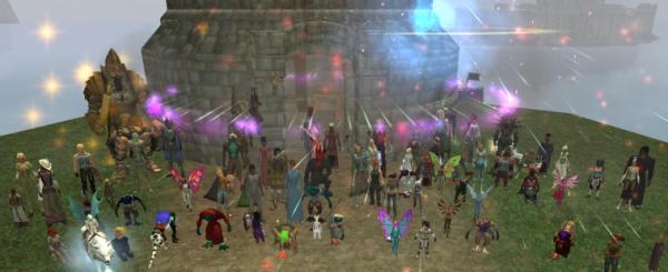 A Memorial/Celebration in honor of Ribbitribbit in Everquest II