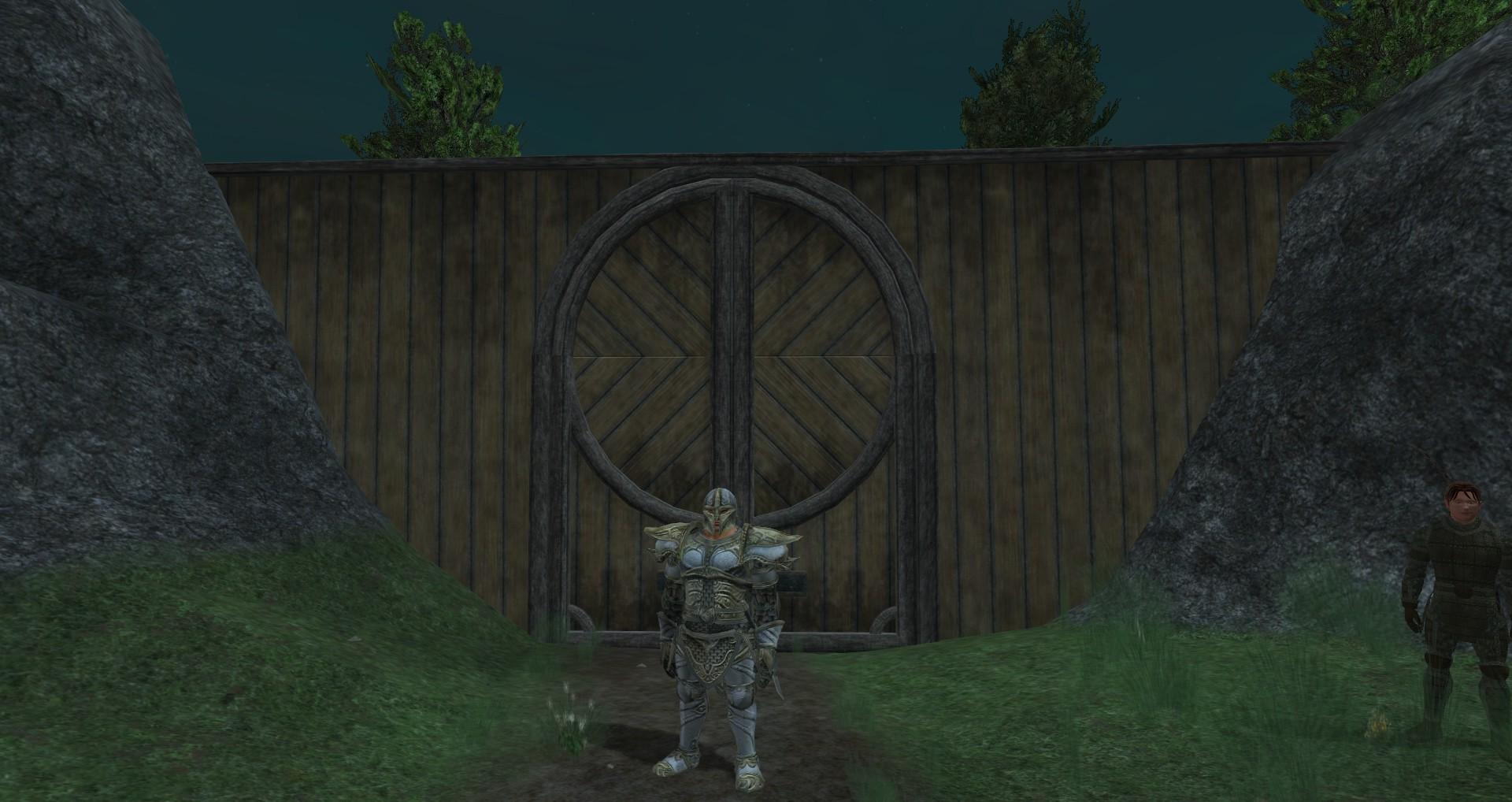 The door to Willow Wood