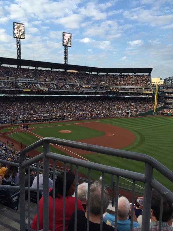SABR seats at the Pirates game